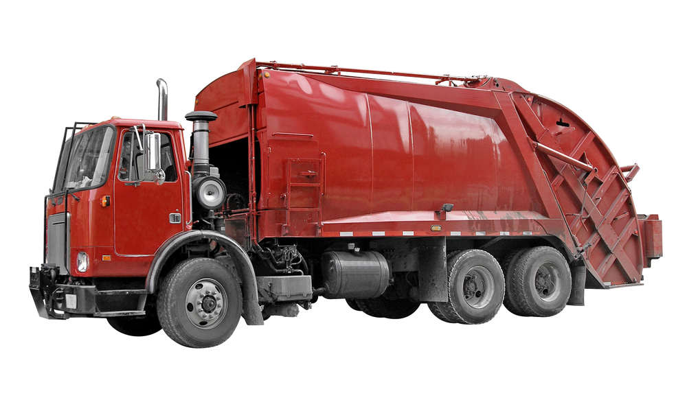 sanitation garbage truck fire suppression
