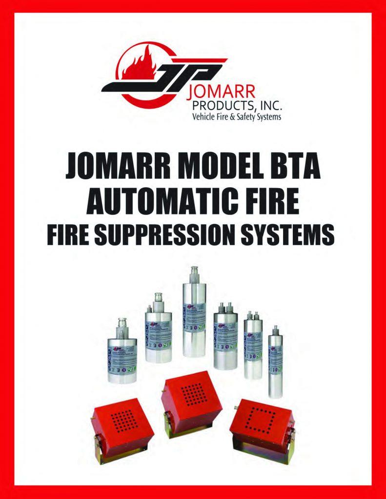 JOMARR BTA Fire Suppression System