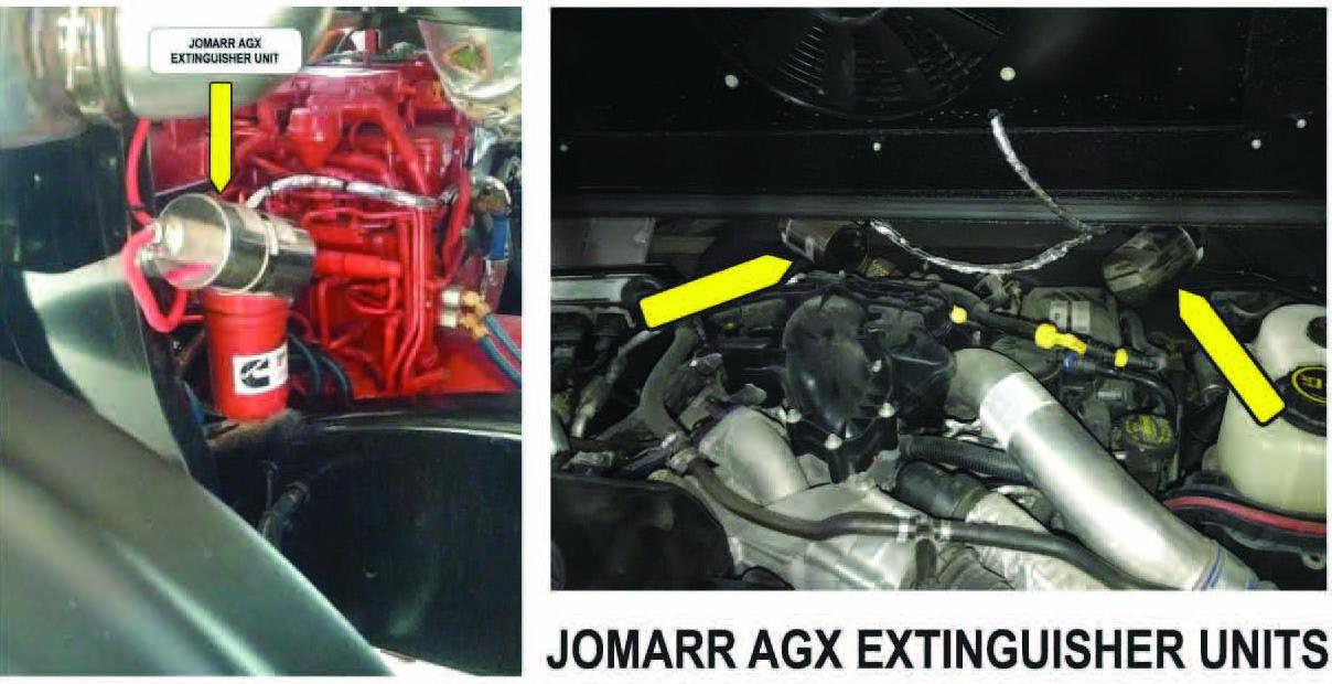 Jomarr AGX Extinguisher