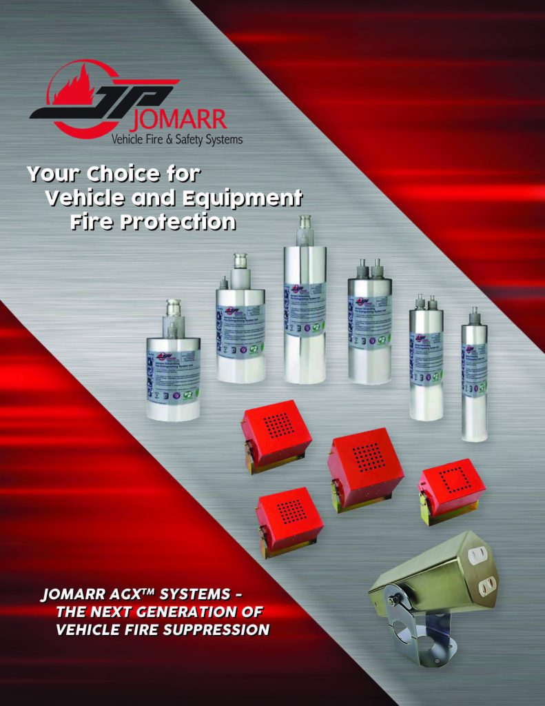 Jomarr AGX Series 200_400 Vehicle Fire Suppression
